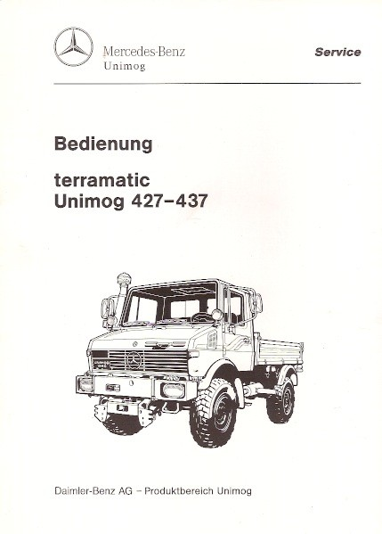 Original Bedienung terramatic Unimog 427 437 - 30 400 54 06 - 304001039