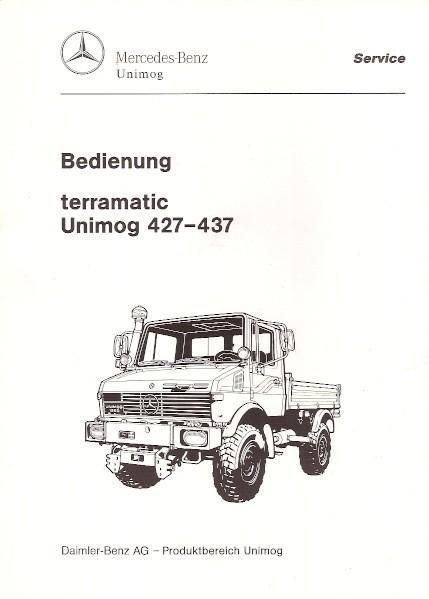 Original Bedienung terramatic Unimog 427 437 - 30 400 54 06 - 304001039