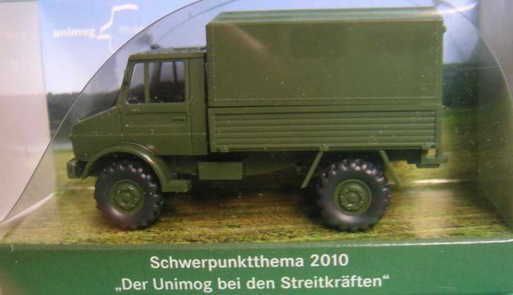 """WIKING-Sondermodell """"Der Unimog bei den Streitkräften 2010"""" - 704001021"""