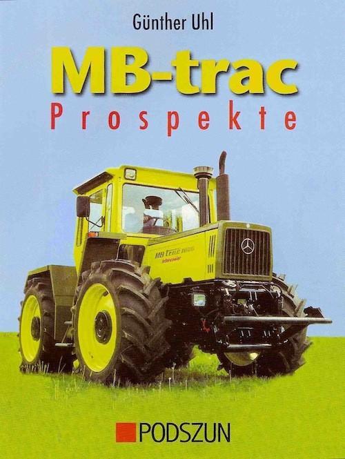 Buch: MB-trac-Prospekte-Buch - 604001021