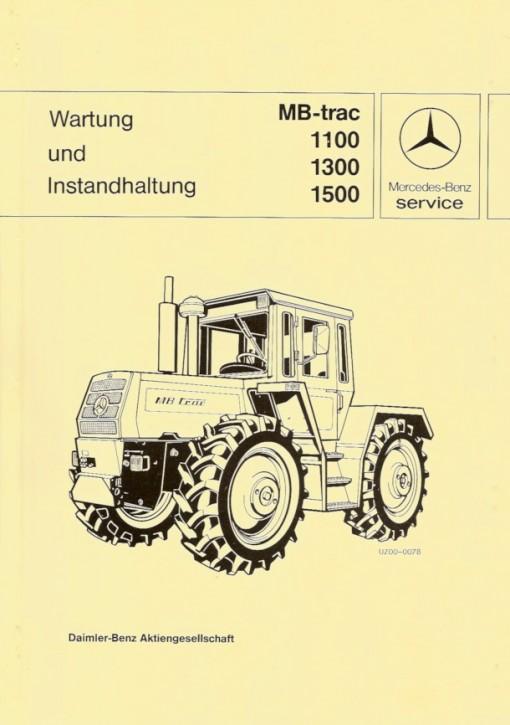 Wartung und Instandhaltung MB-trac 443 - 30 400 26 22 - 364001021