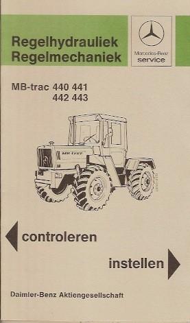 Regelhydrauliek - Regelmechaniek MB-trac - 30 407 4801 Original - 354071012