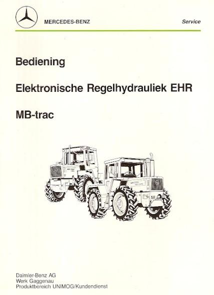Bediening Elektronische Regelhydrauliek EHR MB-trac - 30 407 5404 Original - 354071013