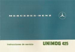 Instrucciones de servicio Unimog 425 - 30 404 51 41 Original - 344041010