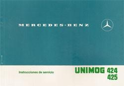 Instrucciones de servicio Unimog 424/425 - 30 404 51 46 Original - 344041009