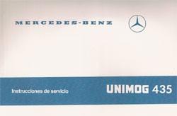 Instrucciones de servicio Unimog 435 - 30 404 51 43 - 344041011