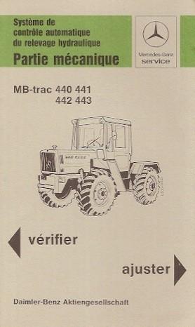 Système le contrôle automatique MB-trac 440 441 442 443 - 30 403 4801 Original - 324031035