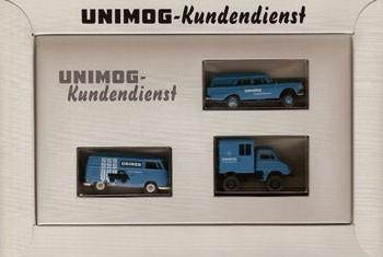 Brekina Modell-Set Unimog-Kundendienst - 2039381 - 704001024