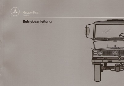 Betriebsanleitung Unimog 403 406 413 416 Scheibenbremse - 30 400 51 11 - 304001004