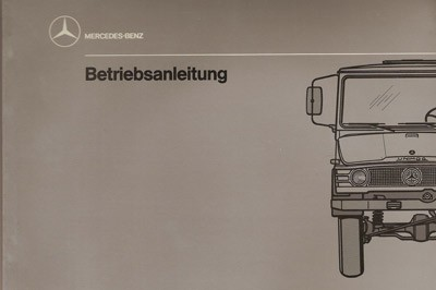Betriebsanleitung Unimog 407 - 30 400 51 17 - 304001007