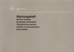 Wartungsheft Unimog - 30 430 6114 Original - 364001010