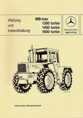 Wartung und Instandhaltung MB-trac 443 - 30 400 26 24 Original - 364001020
