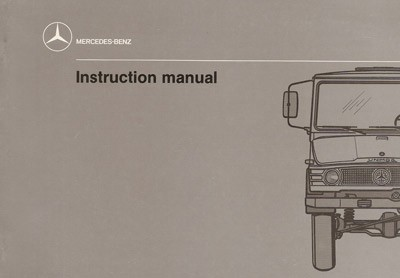 Instruction Manual Unimog 407 -  30 402 51 17 Original - 314021006
