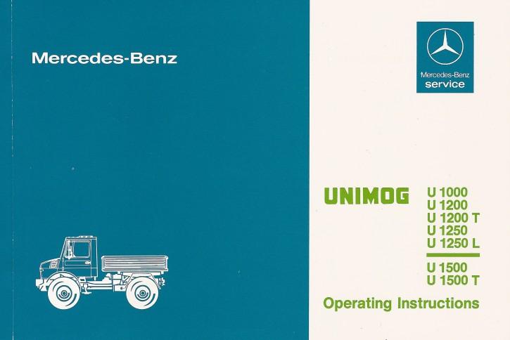 Instruction Manual Unimog 424/425 -30 402 51 47 - 314021014