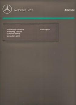 Unimog Workshop Manual 404 S - 114021002 - 30 402 21 31