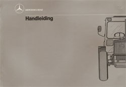 Handleiding MB-trac 440/441 - 30 407 51 34 Original- 354071008