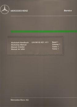 Unimog Workshop Manual 421 411 - 114021003 - 30 402 21 03