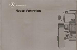Notice d'entretien MB-trac 443 - 30 403 51 35 Original - 324031032