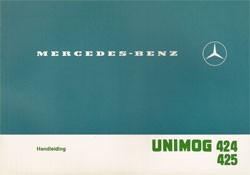 Handleiding Unimog 424/425 - 30 407 51 42 Original - 354071003