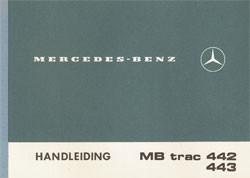 Handleiding MBt-trac 442/443 - 30 407 51 22 Original - 354071009