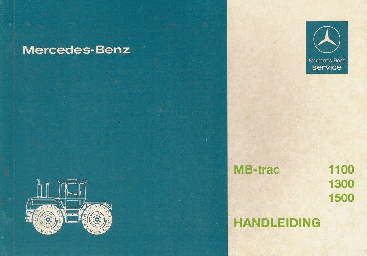 Handleiding MB-trac 443 - 30 407 51 26 Original - 354071010