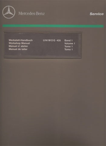 Unimog Workshop Manual 435 - 114021006 - 30 402 21 42 03