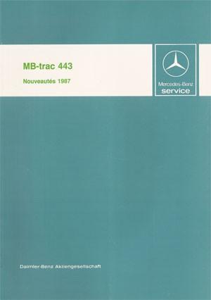 Nouveautés MB-trac 443 - 30 403 11 08 Original  -  364031003
