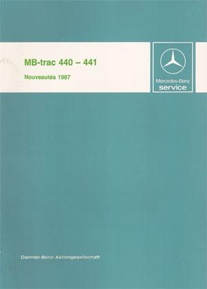 Nouveautés MB-trac 440 441 - 30 403 11 07 Original  - 364031002