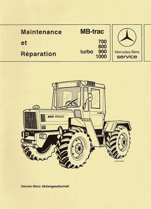 Maintenance et Réparation MB-trac 440 441 - 30 403 26 21 Original  -  364031004