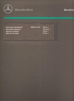 Werkstatt-Handbuch MB-trac 440 - 104001012 - 30 400 21 23