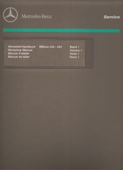 Werkstatt-Handbuch MB-trac 440 441 - 104001013 - 30 400 21 25