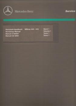 Werkstatt-Handbuch MB-trac 442 443 - 104001014 - 30 400 21 22