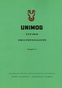 Ersatzteilliste Unimog 2010 - 35001 - 204001001