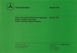 Bildkatalog MB-trac 700 / 440.171 - 11040 - 404001022 Original