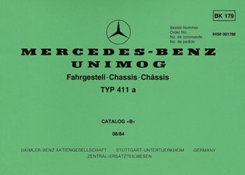Bildkatalog Unimog 411a - 1790 - 404001009