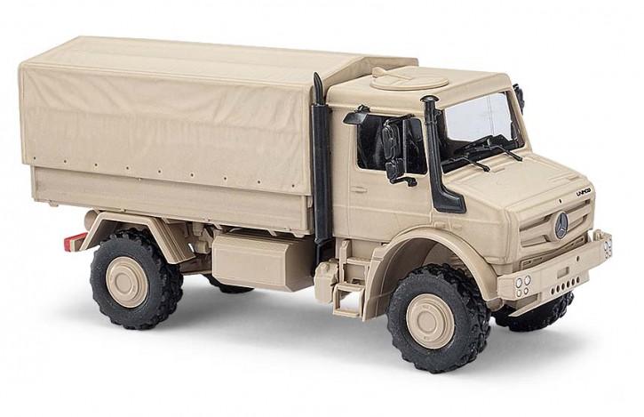 Unimog U5023 Militär sandfarben