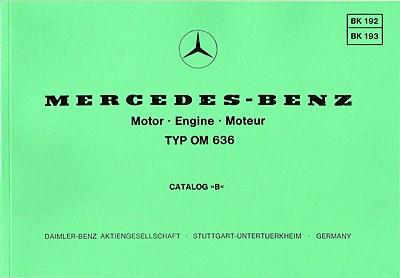 Bildkatalog Motor OM 636 - 192/193 - 404001044