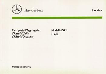 Bildkatalog Unimog 406.1 / U 900 - 2375 - 404001005