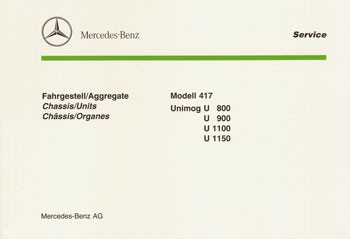 Bildkatalog Unimog 417 - U 800/900/1100/1150 - 6460 200475 C Original - 404001048