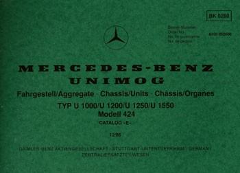 Bildkatalog Unimog 424 - 2600 E - 12.1986 - 2600 Original - 404001033