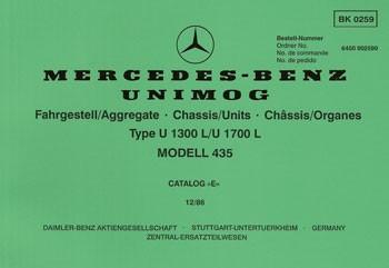 Bildkatalog Unimog 435 / U 1300 L / U 1700 L - 2590 - 404001035