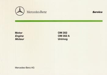 Bildkatalog Motor OM 352 / 352 - 2975 Original - 404001040