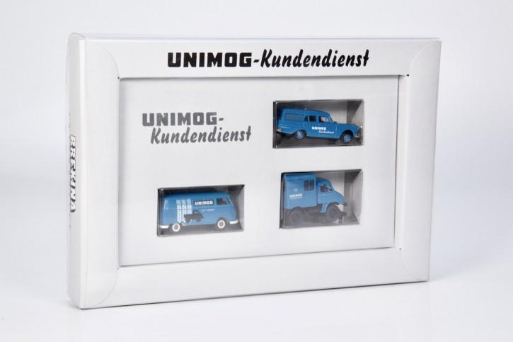 Unimog-Kundendienst Set