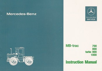 MB-trac Instruction Manual 440/441 - 30 402 51 25 Original - 314021038