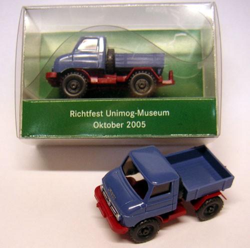 "WIKING-Sondermodell Unimog 411 ""Richtfest Unimog-Museum 2005"" - 704001016"