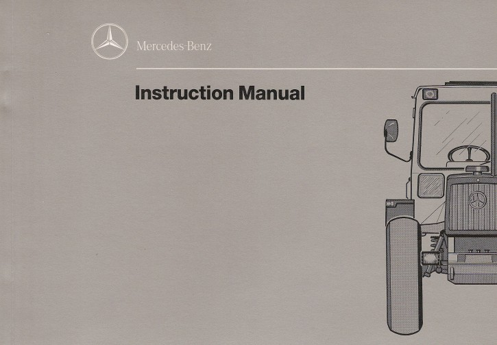 MB-trac Instruction Manual 440/441 - 30 402 51 34 Original - 314021039
