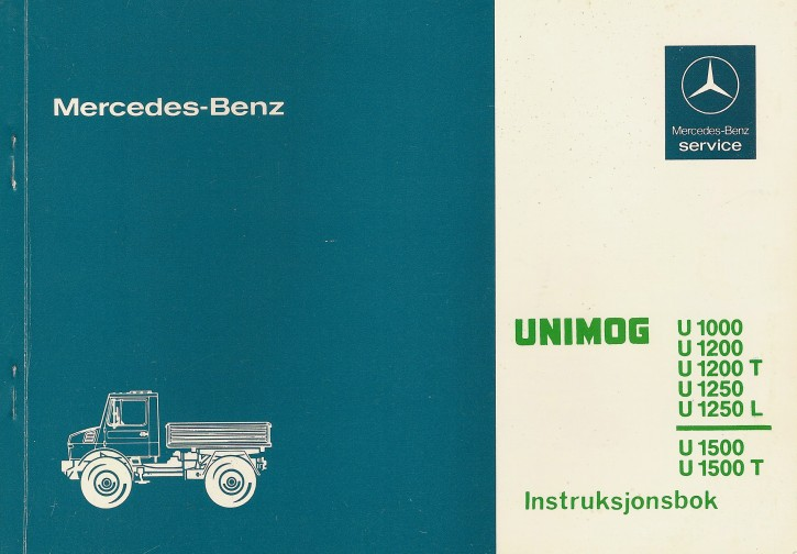 Betriegsanleitung Unimog 424 425 - 30 415 51 47 Original - 354151001
