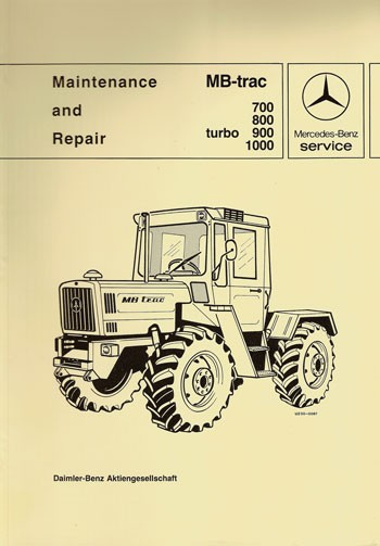 MB-trac 440 441 Maintenance and Repair - 30 402 26 21 Original - 364021001