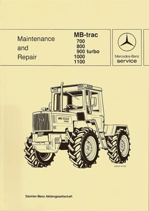 MB-trac 440 441Maintenance and Repair - 30 402 26 23 Original - 364021002
