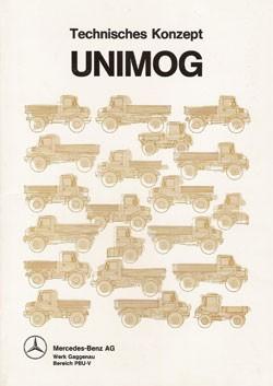 Technisches Konzept Unimog - Original - 304001048